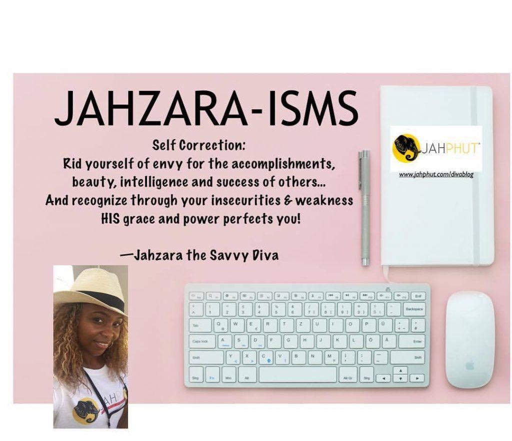 Jahzara-isms