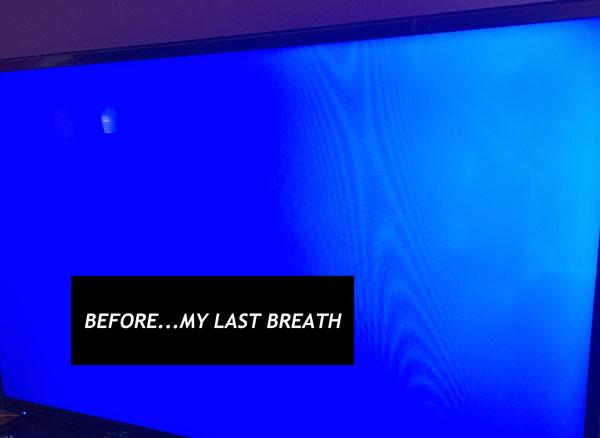 Before…My Last Breath!